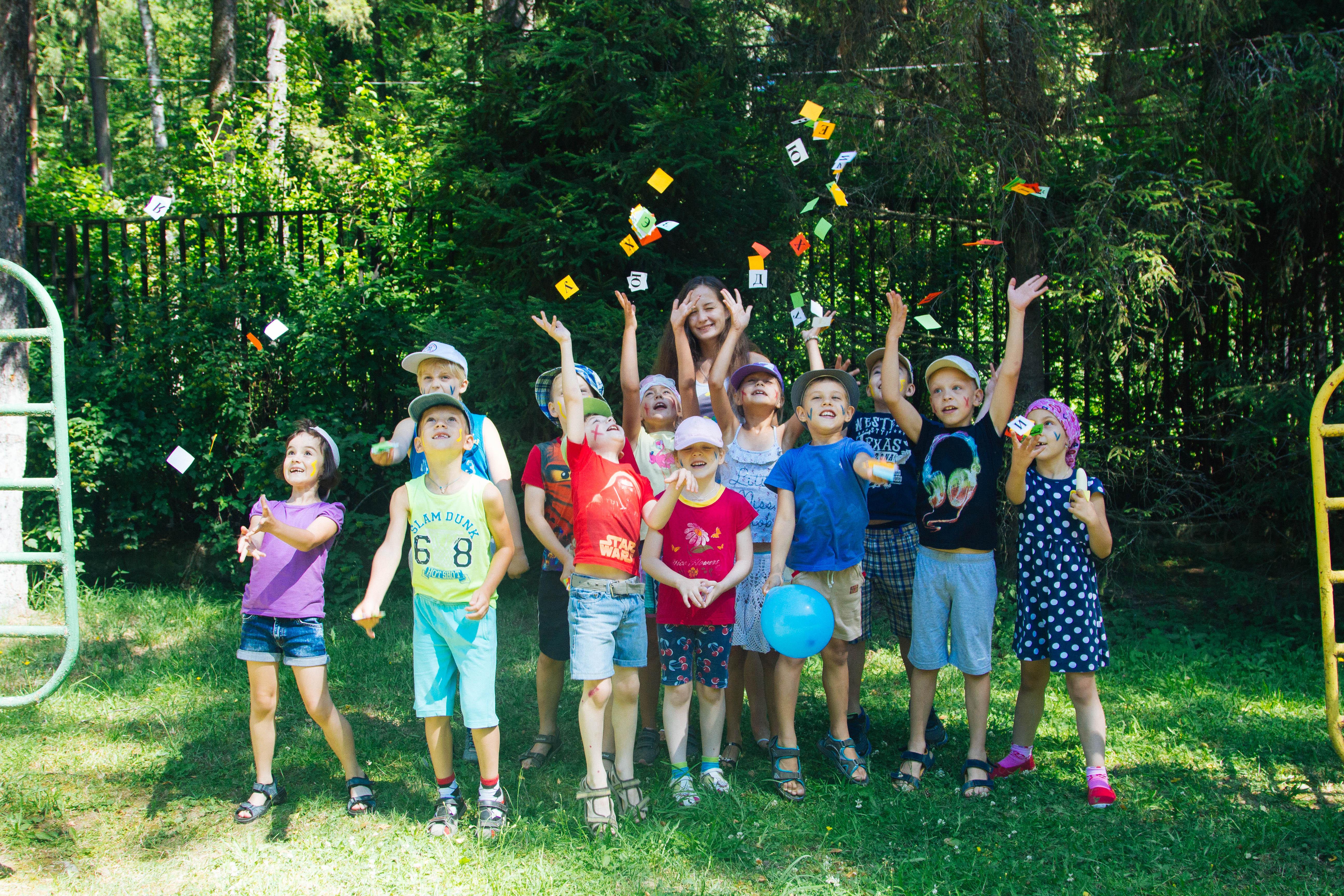 Фото дети в лагере картинки